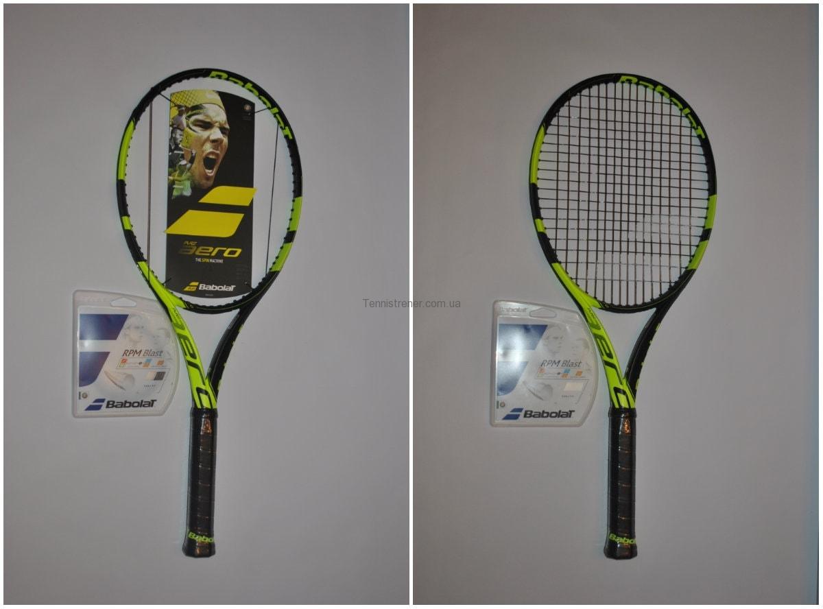 натяжка теннисных струн киев