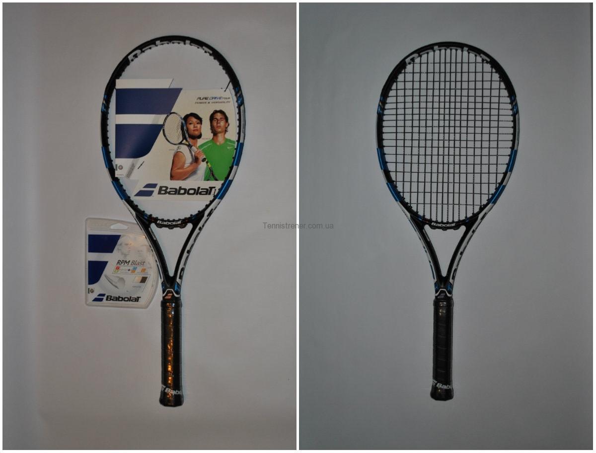 натяжка струн теннисной ракетки