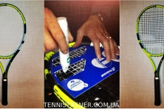 натяжка теннисной ракетки